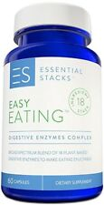 DIGESTIVE ENZYMES Pills / FOR IBS, GAS, Bloating, Diarrhea Leaky Gut 60 Veg Caps