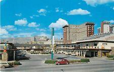 c1960s Deseret Inn Motel, Volkswagen Bug, Salt Lake City, Utah Postcard