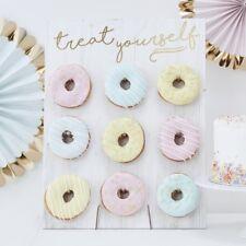 Ginger Ray 9 Donut Doughnut Pretzel Sweet Favour Wall Wedding Candy Cart Party