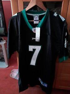 Philadelphia Eagles Black NFL Shirt Jersey #7 Michael Vick Size Large