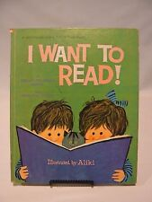 I Want To Read   A Whitman Giant Tell-a-Tale Book  1965 Vintage