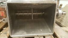 Stainless Steel Auger Feeder with Hopper