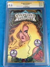 Strangers in Paradise v2 #5 - Abstract - CGC SS 9.6 NM+ -Signed by Terry Moore