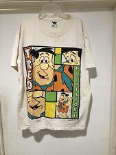 Vintage 1994 Fred Flinstone The Flinstones T Shirt Mens Size L USA Hanna Barbara