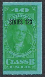 UNITED STATES TB224 CLASS B, SERIES 123 (1953) 40 GREEN