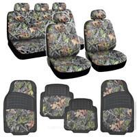 13PC Car Truck Seat Cover, Matching Hunting Camo Bucket Seats+HD Floor Mats⭐⭐⭐⭐⭐