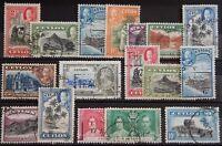 Ceylon British Lot mit alten Werten IX