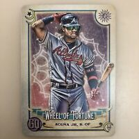 2020 Gypsy Queen Ronald Acuna Jr Wheel of Fortune Tarot of the Diamond TOD 1