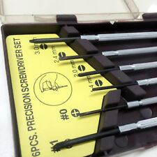 6x Small Precision Screwdriver Set Watchmakers Jeweller Phillips & Slot Tip New
