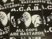 500x ACAB Aufkleber / ACAB stickers Ultras Punk Hooligans Ultra Oi Fußball 1312