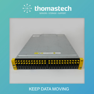 HPE QR482A 3PAR StoreServ 7200 2-Node System w/ 24 x 600GB 10K SAS