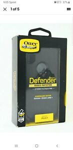 OtterBox Defender Series Black Case For iPhone X & iPhone Xs