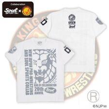 New Japan Weestling x Soul Sport 20th Anniversary T Shirt (Xl)