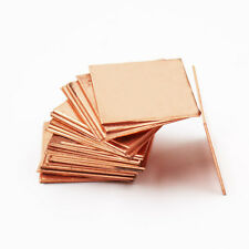 New 30mm*30mm*1.5mm Copper Shim Heatsink Thermal Pad For ASUS Dell CPU GPU Fix