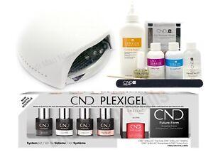 CND PLEXIGEL SYSTEM KIT with UV LAMP & Complete Starter Kit