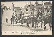 XIIe LUSTRUM van het DELFTSCH STUDENTEN-CORPS. STEEKSPEL op 2 Juli 1908