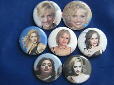 "Brittany Murphy film and stage actress, singer, and voice artist.1"" button badge"