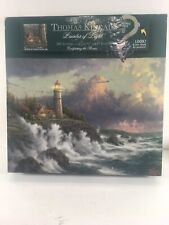 Thomas Kinkade Puzzle Conquering The Storms 500 Curly Pieces 27x20