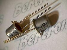 BZX48  transistor  metal can  orig. collectible vintage with golden leads