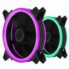 New Design PC Fan 120mm 25T 6 Pin Hydro Bearing RGB DOUBLING 1 EA