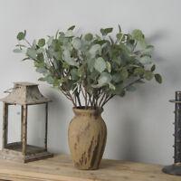 Artificial Plant Fake Leaf Craft Foliage Home Office Garden Flower Wedding Decor