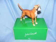 John Beswick Dog Boxer Fawn JBD105 Figurine Present Gift New Boxed