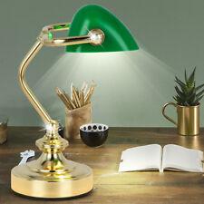 Beistell Table Lampe Vintage Banquier Bureau Style Projecteur Luminaire