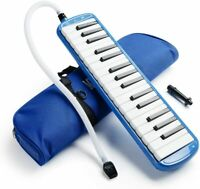 Melodica 32 Piano Keys Pianica Musical Instrument with Carrying Bag