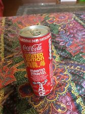 COCA COLA 2 LATTINE EURO2008 piene LIMITED EDITION