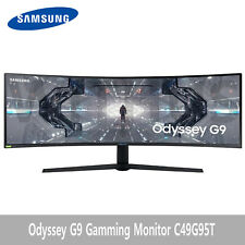 """Odyssey G9 Ultrawide Gamming Monitor 1000R curved 49"""" 5120x1440(C49G95T)"""