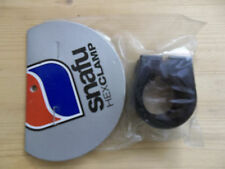NOS SNAFU Hexagon Alloy Seat Clamp for BMX Freestyle Dirt Jumping Fixed Gear S&M