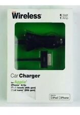 NEW Just Wireless  Car Charger for Apple iPhone 4/4s 7ft