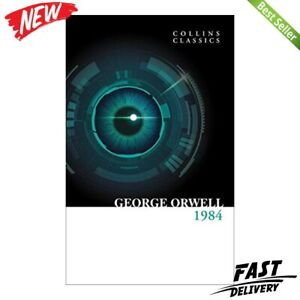 1984 Nineteen Eighty-Four, George Orwell, Paperback