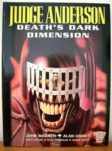 2000AD Judge Anderson - Death's Dark Dimension 2002
