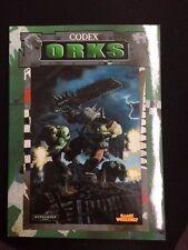 Warhammer 40K Orks Codex (1999) OOP Games Workshop GW