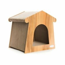 New listing Cat Tree Furniture Kitten House Play Tower Scratcher Beige Condo Post Bed