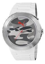PUMA reloj blast L CAMO BLANCO pu103331004 Análogo SILICONA BLANCO