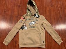 Nike Youth Philadelphia Eagles Salute To Service Hoodie Sweatshirt Medium M Boys