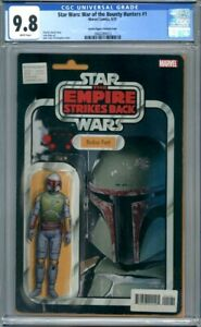 Star Wars: War of the Bounty Hunters #1  Boba Fett Action Figure Variant CGC 9.8