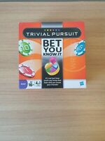 Trivial Pursuit - Bet You Know It Family Board Game - Hasbro Gaming