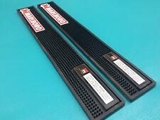 2 New Marlboro Bar Drip Mats Serving Rubber Tray Runner 23 Inch Black Cigarette