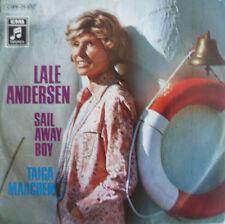 "7"" 1971 SUPER RARE MINT-! LALE ANDERSEN : Sail Away Boy"