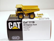 Caterpillar 777D Dump Truck - 1/87 - Brass - CCM - MIB