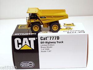 Caterpillar 777D Dump Truck - 1/87 - Brass - CCM - MIB