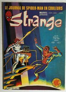 STRANGE #137 French color Marvel Comic (1981) Spider-Man Iron Man DD VG+