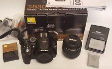 Nikon D5300 Digital SLR with 18-55mm VR II Compact Lens Kit - Black