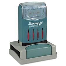 "Xstamper Versadater Pre-inked Stamp - Paid Message/date Stamp - 1.31"" X 2.12"" -"