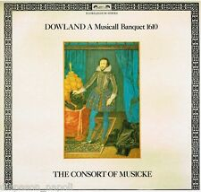 Dowland: A Musicall Banquet 1610 / The Consort Of Musicke - LP