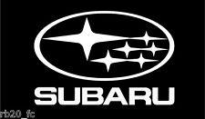 SUBARU IMPREZA WRX STI WRC Logo Decal sticker vinyl - Custom Size