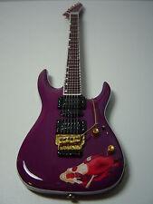 Emppu Vuorinen Harem Red Girl Miniature Guitar